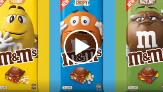 Watch Video - M&Ms Block Product of the Year