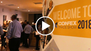 Watch Video - Confex Trade Show 2018